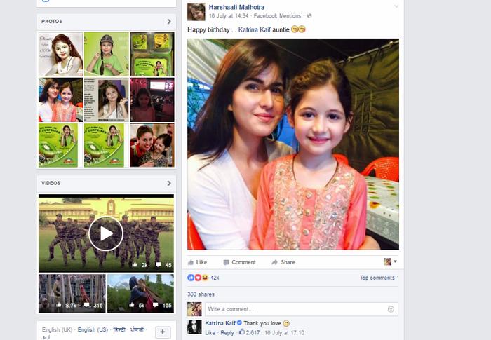 When Harshaali Malhotra And Katrina Kaif Broke The Internet