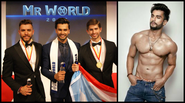 15 Pictures Of Mr World 2016 Rohit Khandelwal That Will Make You Drool