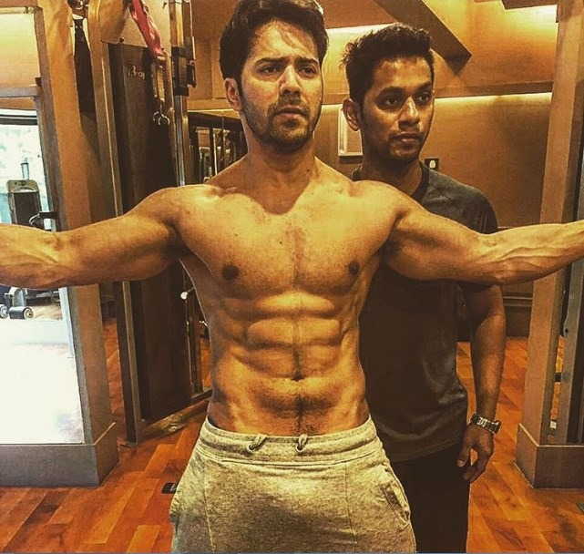 Varun Dhawan's Take On His Extra Ab Breaking The Internet Is The Most Chill Thing Ever