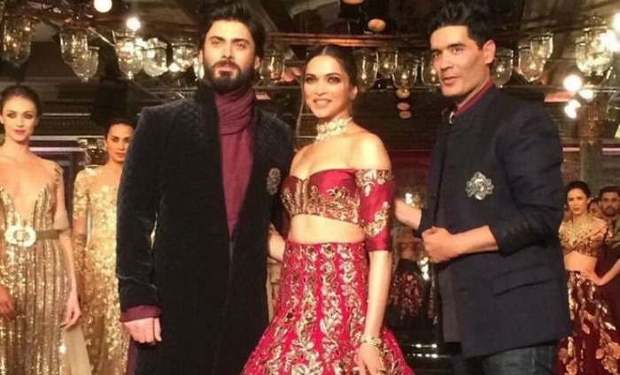 Fawad Khan And Deepika Padukone Were Perfect Muse For Manish Malhotra At India Couture Week 2016