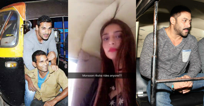 10 Celebrities Who Defied All Bollywood Norms To Ride Auto Rickshaws