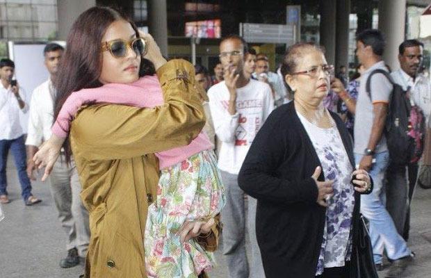 Paparazzi Gone Too Far: Aishwarya Rai's Mother Gets Hurt At Mumbai Airport