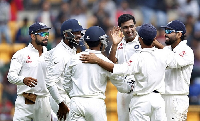 India Inflict Innings Defeat On West Indies