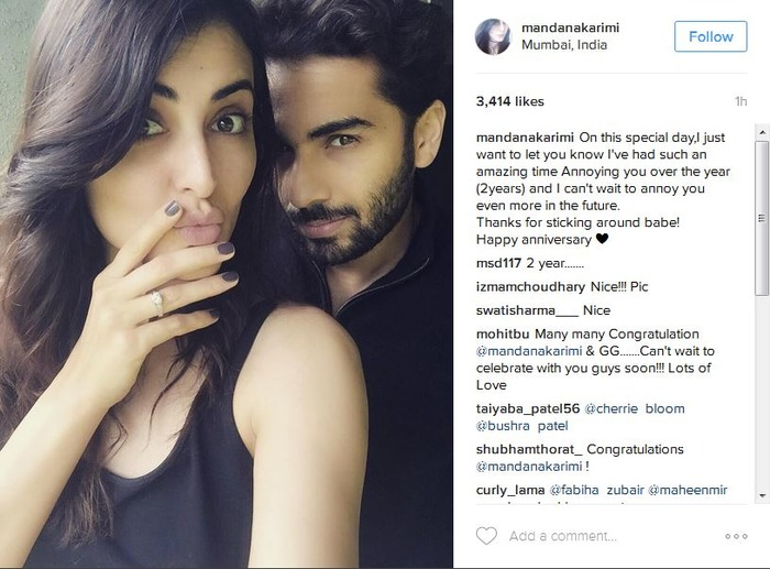 Mandana Karimi Is ENGAGED & We Love Her Ring