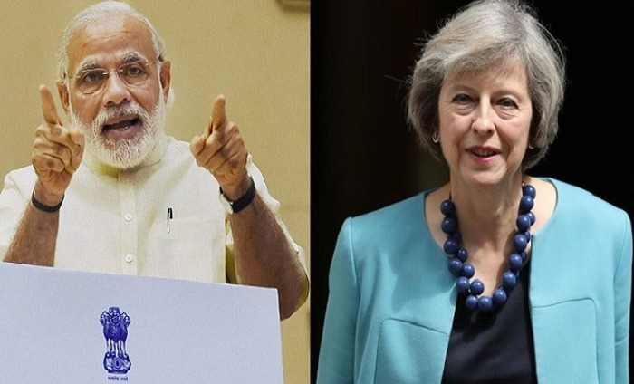 PM Narendra Modi Is Looking Forward To 'Stronger And Closer' Political Ties With Theresa May