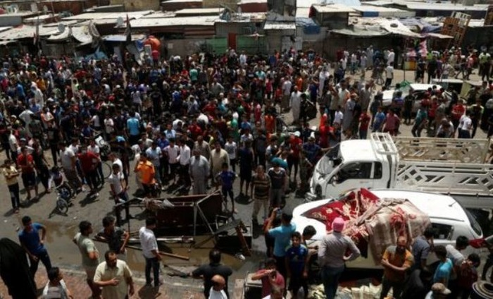 126 People Killed In Suicide Car Bomb Attacks In Baghdad