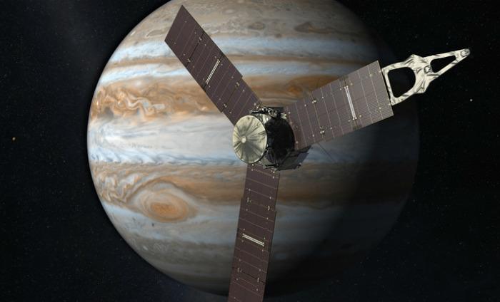 Celebrations At Nasa As The Juno Satellite Is Now Orbiting Jupiter