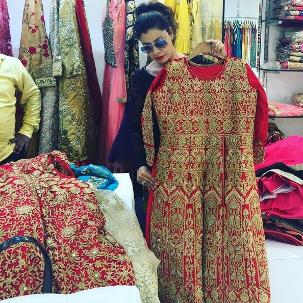 Check Out Sambhavana Seth's Wedding Outfit - Dont Miss