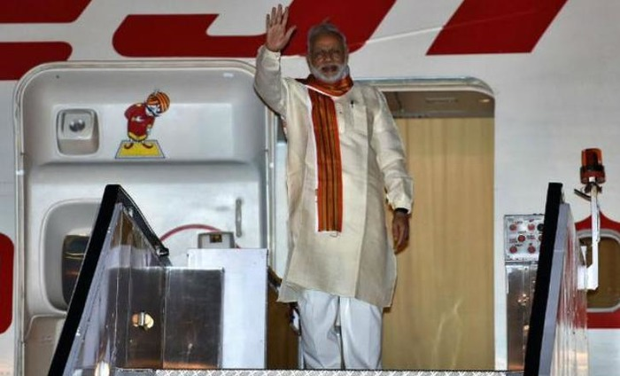 Prime Minister Narendra Modi Leaves For Four-Day Tour Of Africa