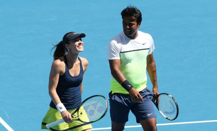 Leander Paes And Martina Hingis Knocked Out Of Wimbledon 2016