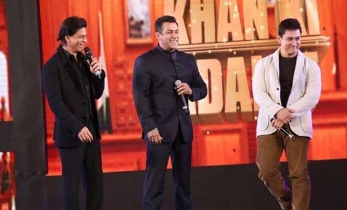 I Feel, Aamir And Salman Are Bigger Stars Than Me, Says Shah Rukh Khan