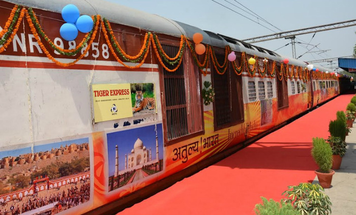 Tiger Express - A Semi-Luxury Indian Train To Give You A Royal Feeling