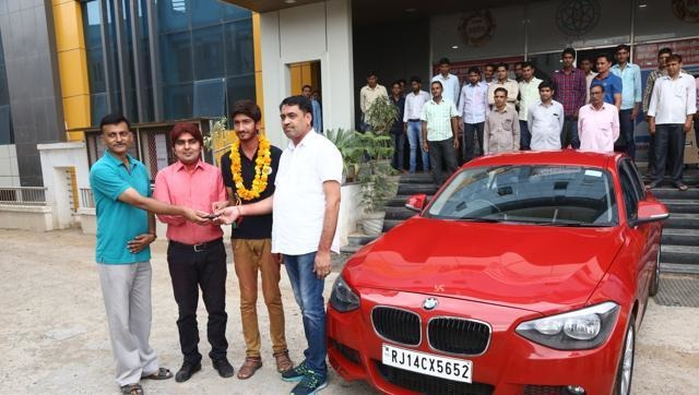 IIT Coaching Institute Gifts Its AIR 11 With A BMW; Genuine Reward Or Marketing Strategy?