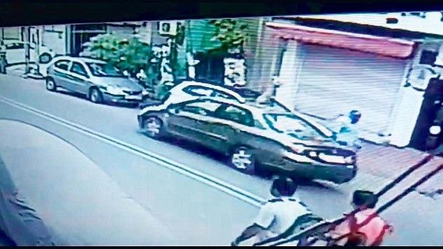 Tragic Hit-And-Run Incident In West Delhi's Janakpuri Area Caught On Camera!