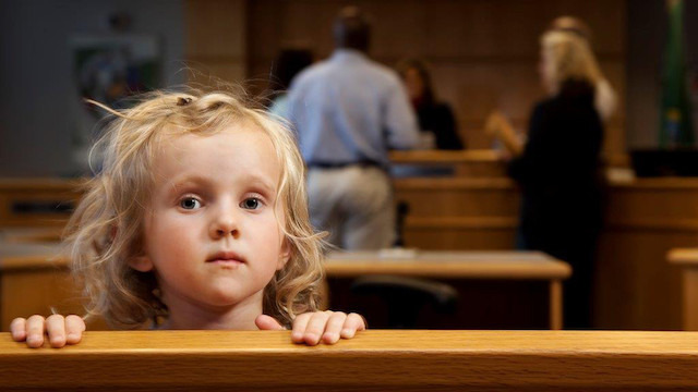 Why Don't You Stay With Mom, Child Begs Father During Custody Battle