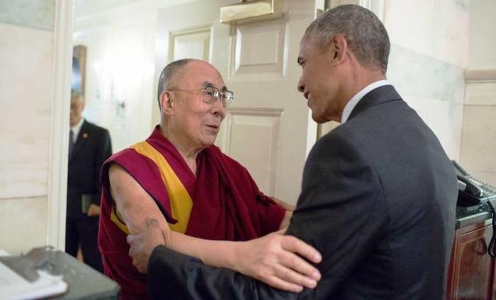 China Fumes As US President Barack Obama Meets Dalai Lama