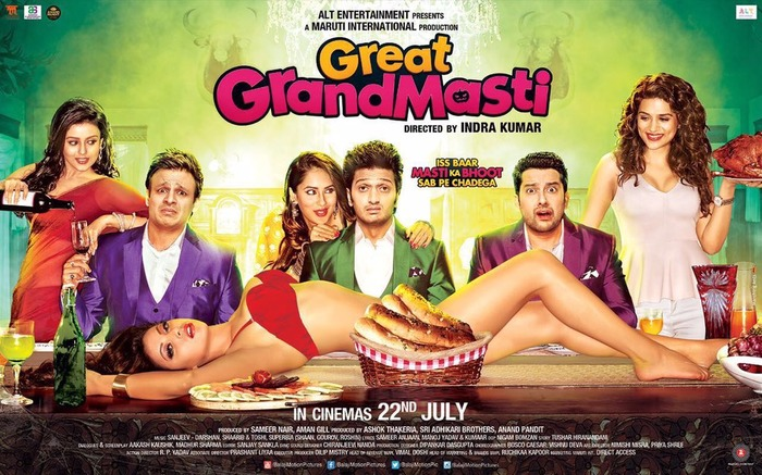 Great Grand Masti's First Look Poster: Taking The Sleazy Up A Notch