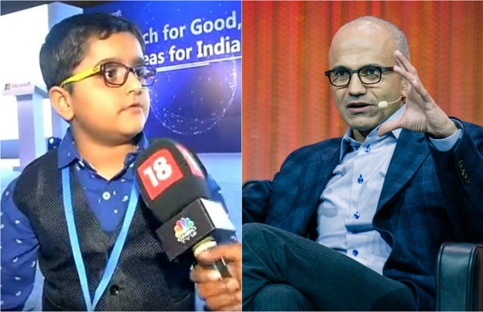 Here's How This 8-year-old App Developer Caught Microsoft CEO Satya Nadella's Attention!