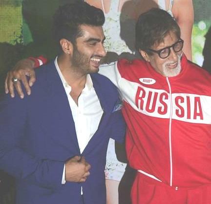Amitabh Bachchan's Doze Of Sarcasm To Arjun Kapoor