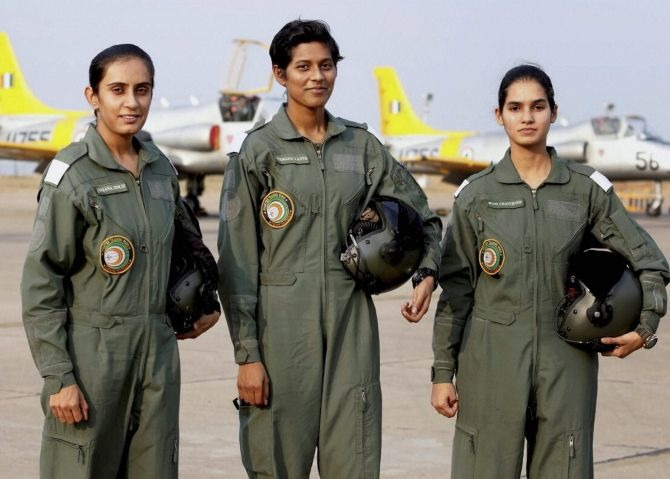 India Gets First Three Women Fighter Pilots; Breaking Gender Biases