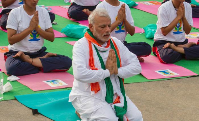 10 Inspiring Quotes By Narendra Modi On International Yoga Day 2016