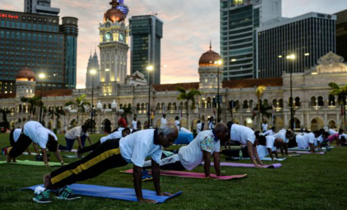 135 Nationalities Join International Yoga Day Celebrations At UN