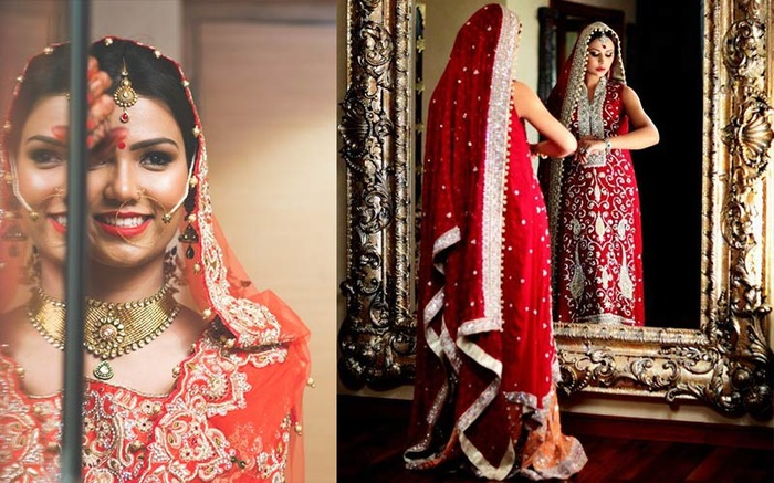 10 Kickass Poses For The Quintessential Indian Bride