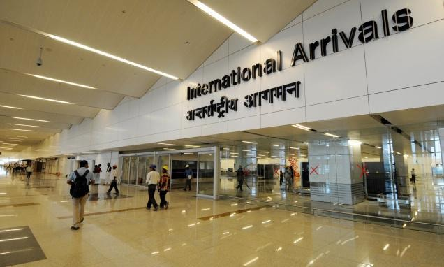 Delhi Airport Ground Staff Caught On Camera Stealing Valuable Items From Passenger's Luggage