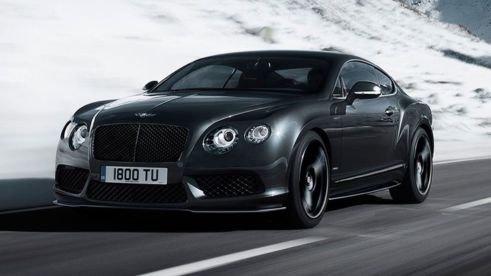 Most Pricey And Posh Cars In India - Bentley Continental GT