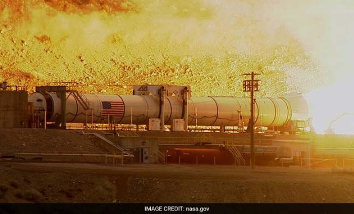 NASA's Most Powerful Rocket Set For Mars Journey
