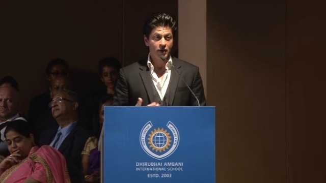 Video: SRK's Inspirational Speech Proves He's The Most Awesome Orator Ever