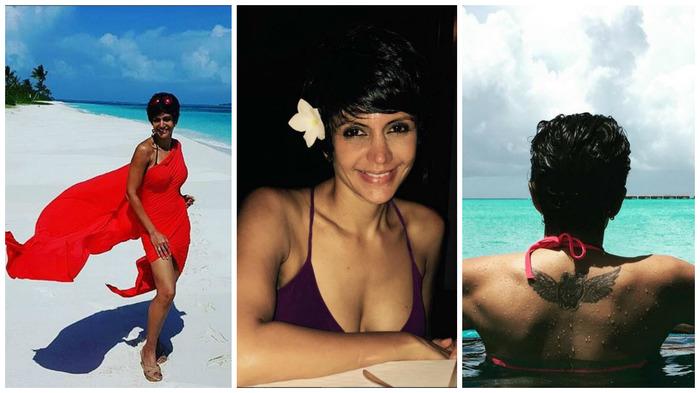 Maldives Diaries:  Mandira Bedi's Hot Bikini Photos Will Make You Want To Hide Your Face Somewhere