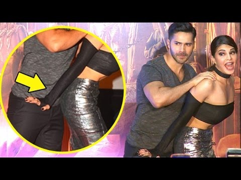 OMG! What Is Varun Dhawan Doing With Jacqueline Fernandez In Public