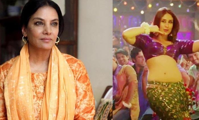 It's A Serious Issue: Shabana Azmi Slams Kareena's 'Dabangg' Item Song