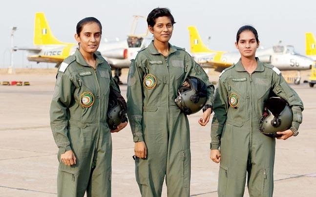First Women Trio To Become Fighter Pilots