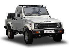 Exotic Cars & SUVs Available In India - Maruti Gypsy