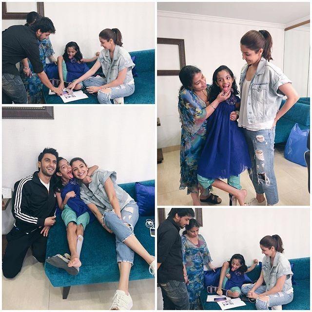 Awww Alert: Anushka Sharma And Ranveer Singh Make A Fan's Day