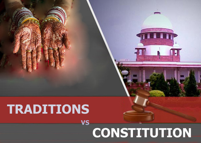 Should Traditions Take Priority Over Constitutional Law...???
