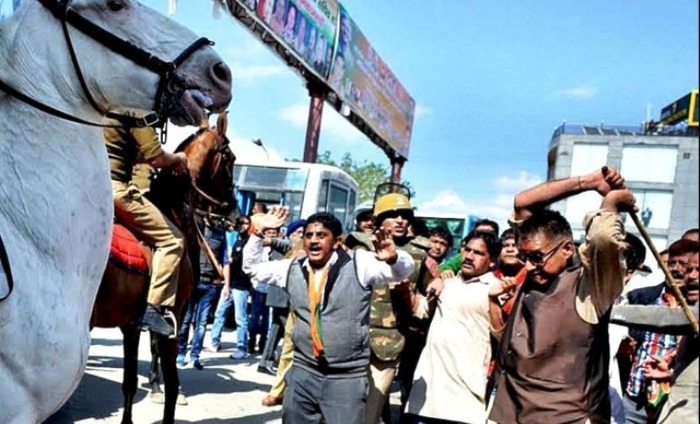 BJP MLA Ganesh Joshi Arrested For Injuring Security Horse, Shaktimaan