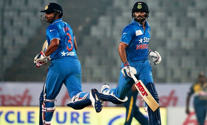 India Sweeps Through To The Asia Cup Finals After Beating Sri Lanka By 5 Wickets