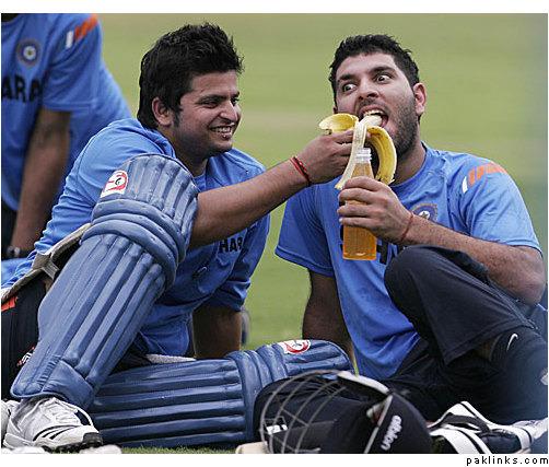 Team India's Funny Celebration Moments