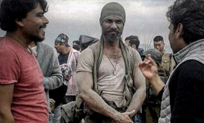 Shahid Kapoor Is Unrecognizable In This Photo From Rangoon