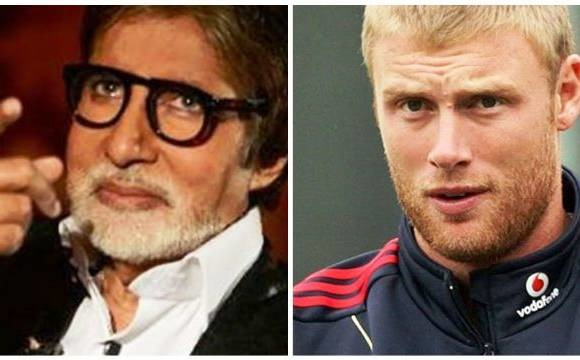 Amitabh Bachchan's EPIC Reply To Andrew Flintoff's Tweet
