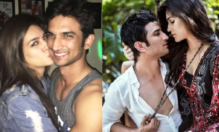 Sushant Singh Rajput And Kriti Sanon Make Merry After His Breakup