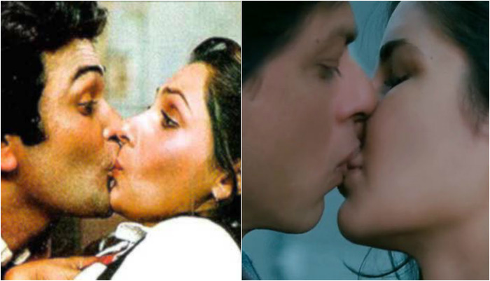 Top 10 First On-screen Kisses Of Bollywood Stars