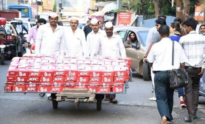 Mumbai's Dabbawalas To Deliver KFC Meal Boxes