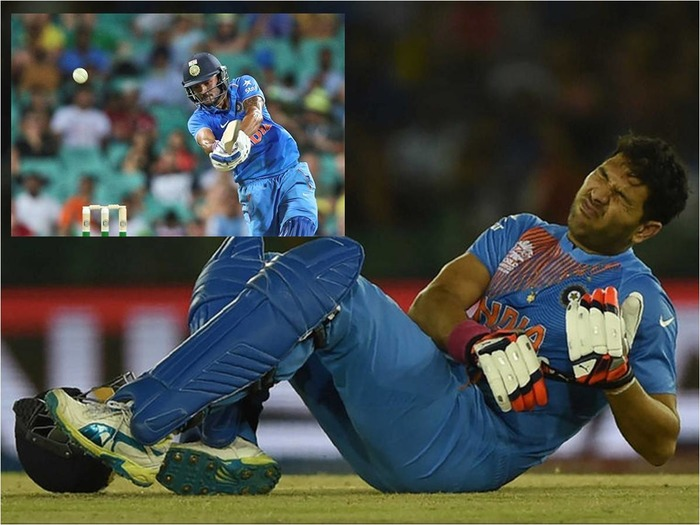 Manish Pandey To Replace Injured Yuvraj Singh In ICC T20 World Cup
