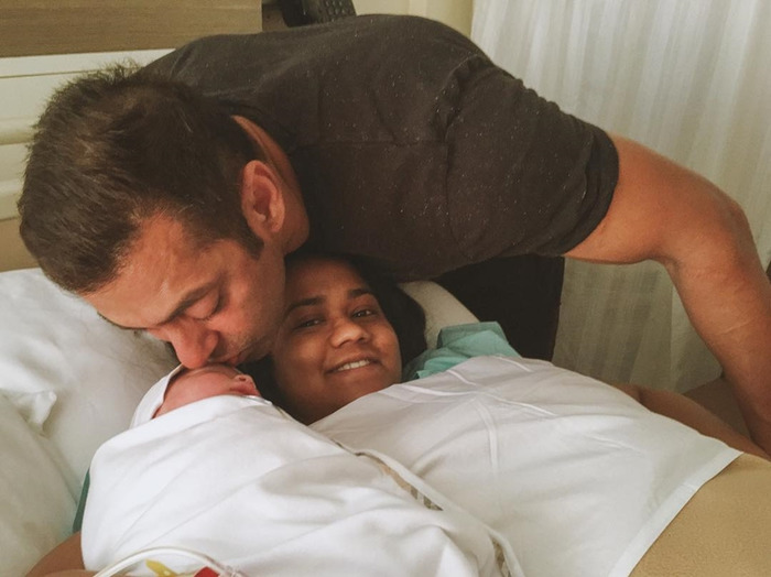 When 'mamu' Salman Khan Met Arpita Khan's Son Ahil For The First Time
