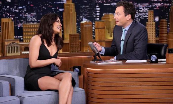 Priyanka Chopra Appears On 'The Tonight Show Starring Jimmy Fallon'
