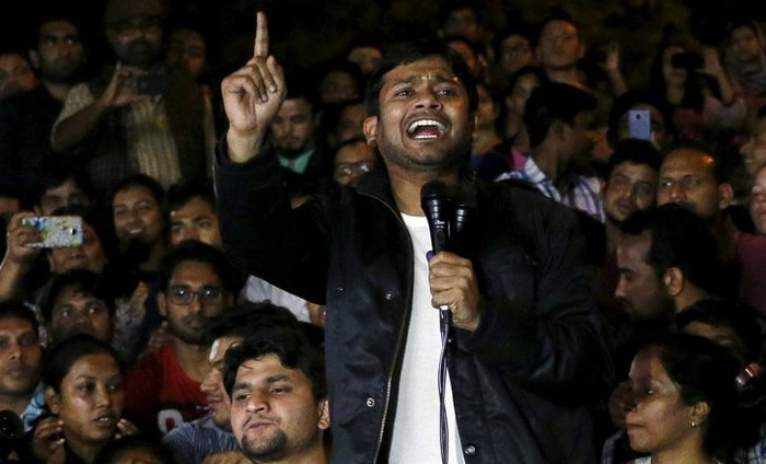 Watch: Kanhaiya Kumar Out From Tihar Jail, Gives Home Coming Speech